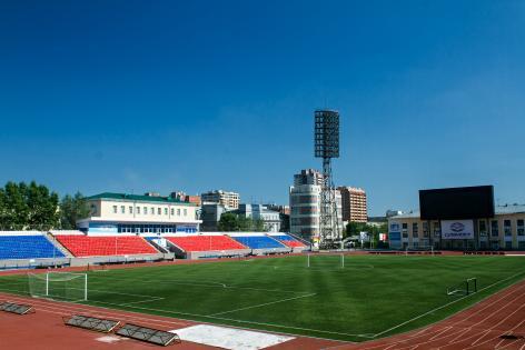 Стадион «Спартак» — домашняя площадка новосибирского футбольного клуба «Сибирь», выступающего в Первенстве ФНЛ.